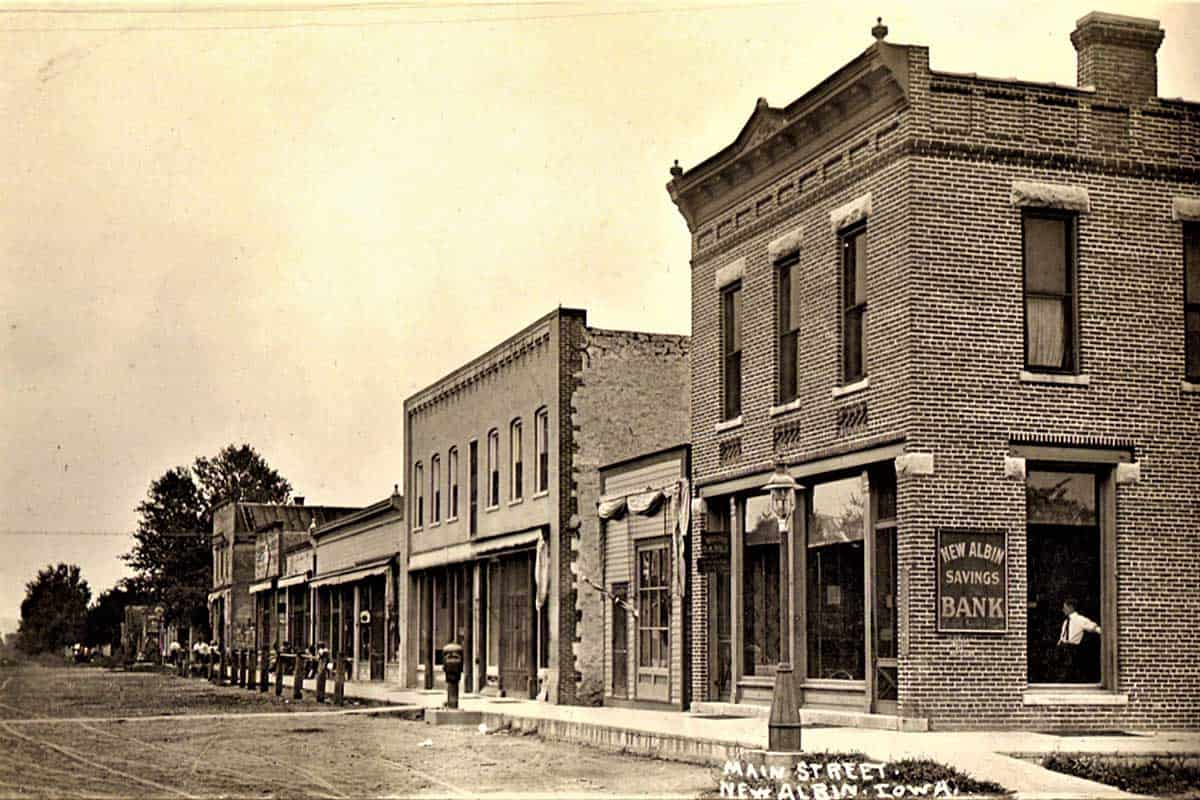 Historic New Albin State Bank