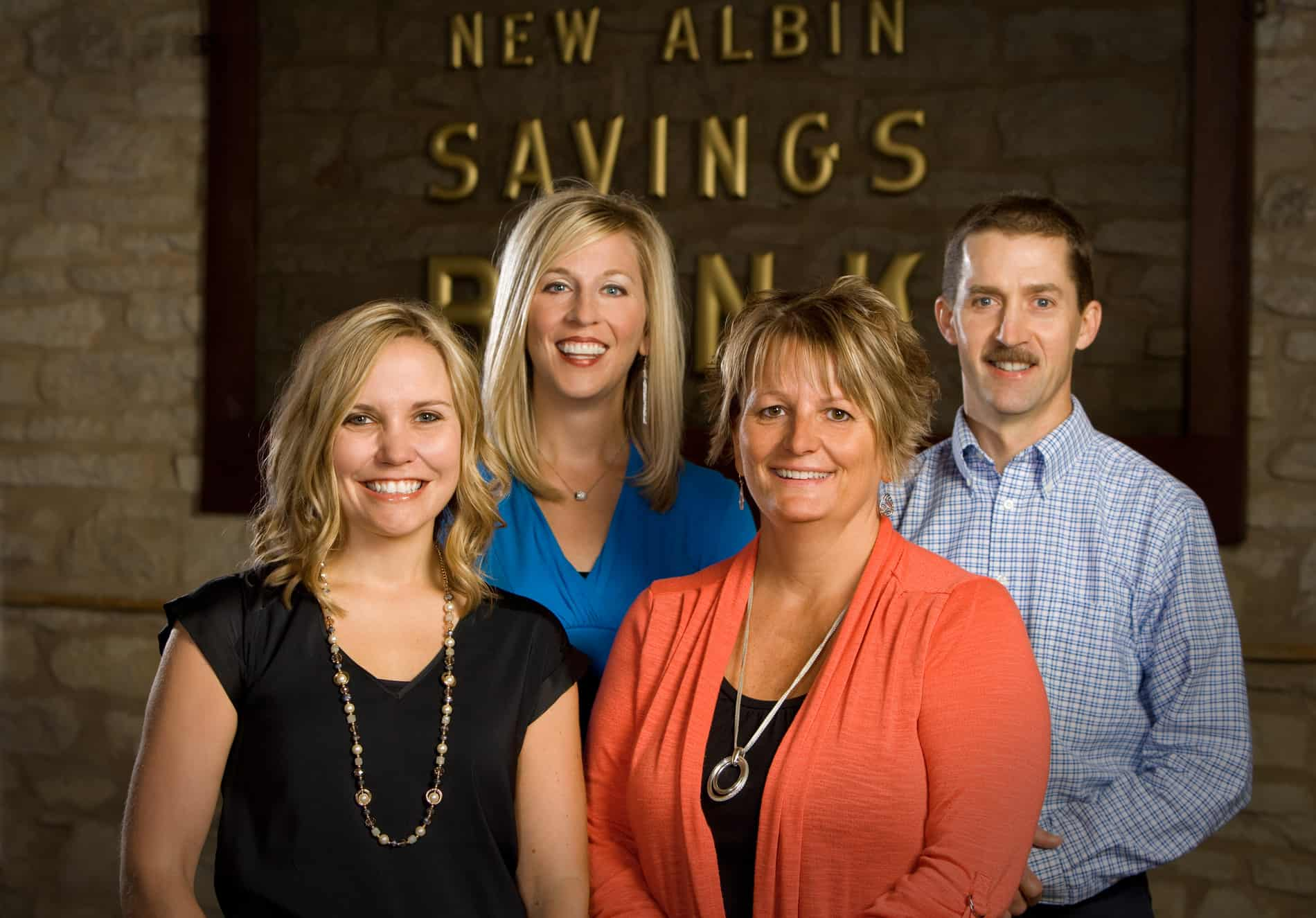 New Albin State Bank Insurance Staff